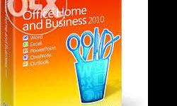 I want to sale Microsoft office 2010 home and business