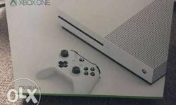 This Box includes Microsoft Xbox One S Console 500GB