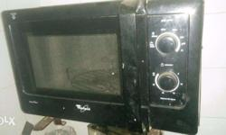 Whirlpool microwave oven. Bought in 2013. Black