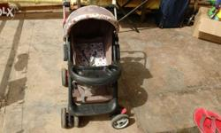 Almost new baby stroller bought 1 year back. Can be