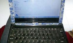 Mini laptop Emachines with intel proceesor full working