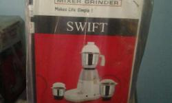 hi, iam selling brand new mixer grinder of ISI mark for