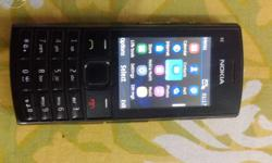 Model: Nokia X2-02 1year used GSM BODY Dimensions: 113