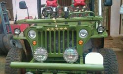 Year: 1991 Condition: Used mahindra jeep with power