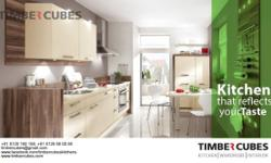MODULAR KITCHEN-KITCHEN CABINETS-WARDROBES-TIMBERCUBES