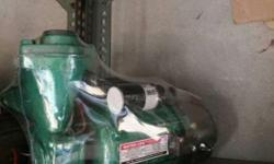 Monoblock pumps 1/2 hp only 1650 and 100'/, copper