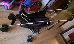 Black Mother Care baby Stroller, 6 years old. Condition