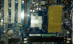 Pentium D support motherboard only 499 no back