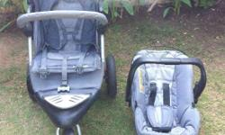 Mothercare stroller- an excellent condition! Car seat