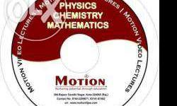 physics chem maths (10 dvds contain full syllabus of