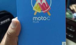 Moto C Plus, Unused Phone bought just few hours back.