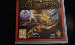 Motor Storm apocalypse ps3 game case
