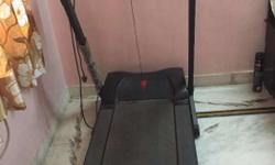Motorized Treadmill, good condition, less used, 4yrs