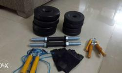 Move-out Sale: 12kg dumbbells along with other fitness