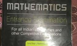 MSc. mathematics entrance exam book for all central