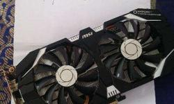 Msi Geforce Gtx1060 6gb Ddr5 Oc V1 for sale its in new