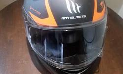 MT Helmet S-size, DOT cerified and L-size Ktm