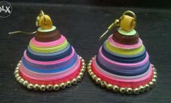 Hand made Ear rings (Different types of ear rings are