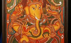 GANAPATHI Mural of Ganapathi Ganapathi is the god of