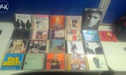 Music CDs, pop songs