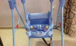 Happy Baby Musical Baby Swing. Have a firm stand, seat