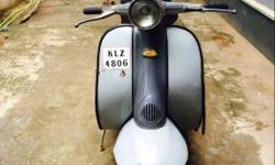 My LAMBRETTA is an sale and running condition