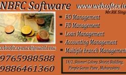 Websoftex NBFC Software is one of the most popular and