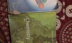 NCERT 11th class book physics 1st book + Chemistry 1st