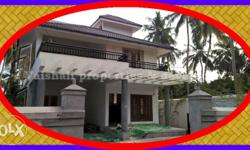 Price 1 cr. Independent house 6.5 cents, 4 bhk, 2400
