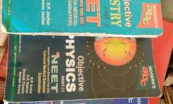 NEET Chemistry,physics And Biology Books