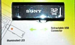 New seal pack Sony 32GB Pendrive very low price Only