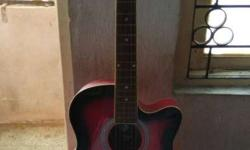 New acoustic Guitar very less used for sale