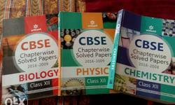 New CBSE chapter wise solved papers for phy,Chem and