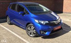 Well Maintained Blue honda jazz 1.2 MT, petrol - top