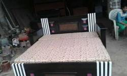 new Double bed 13500 Fixed price wid box