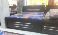 New double bed with storage size 5 by 6 only for rps