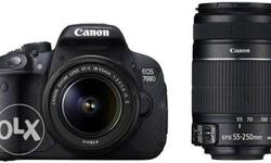 Canon 700d dual lens new seal pack with 30 % off amazon