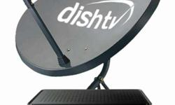 new free dish connections fitting ke sath