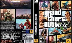 New GTA 5 pc sealed box with flipkart bill of 2500