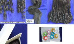 Hair Extensions, Trendy Clips & hair Pins Collection.