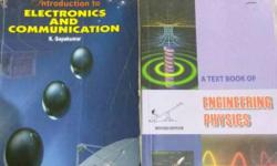 Engineering books.(Introduction to Electronics &
