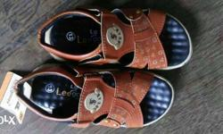 Kids pair Of Brown Open Toe Sandals for 4-5yrs