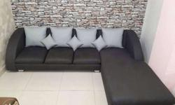 new launger sofa set with 10 yer guarantee. colour
