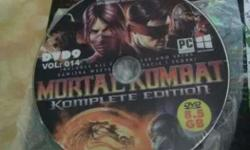 New mortal kombat awesome graphics working game pc cd