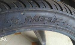 New MRF tubeless bike tyres(front) Size 80/100-17.