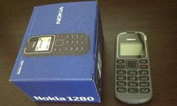 the brand new nokia 1280 BLACK