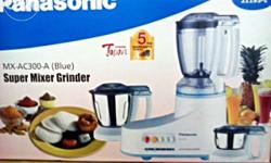 new panasonic super mixer grinder didnt remove pack