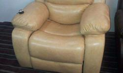 Imported Recliners, Bonded Leather Recliner Sofa, New