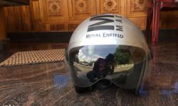 New Royal Enfield helmet 1 week old no scratches good