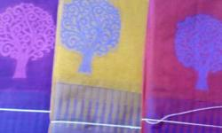 New silk cotton sarees for women.good design and